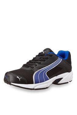 Puma Volt. II Ind. Black & Blue Running Shoes