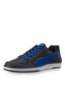 Puma Unlimited Lo DP Black & Blue Training Shoes