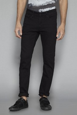 Nuon by Westside Black Hendrix Slim Fit Jeans