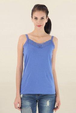 Vero Moda Blue Lace Cami Top