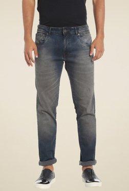 Jack & Jones Dark Blue Slim Fit Low Rise Jeans