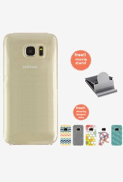 Stuffcool CLAIR Fab Transparent Hard Case for SamsungS7 Edge