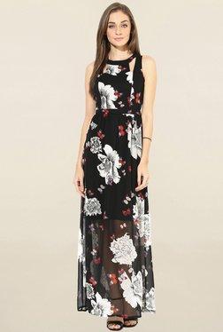 Only Black Floral Print Maxi Dress