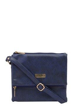 Esbeda Dark Blue Solid Drymilk Sling Bag
