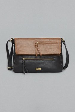 LOV By Westside Tan & Black Jonna Sling Bag