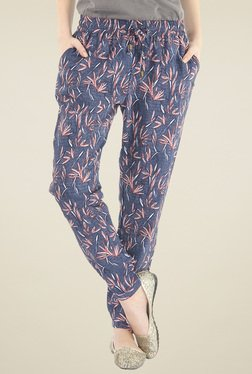 Pepe Jeans Blue Regular Fit Mid Rise Trousers