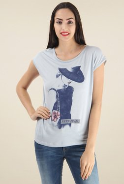 Pepe Jeans Blue Short Sleeves T-Shirt