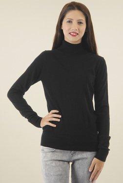 Pepe Jeans Black Turtle Neck Sweater
