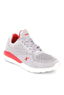 ef826ded514 Sparx Light Grey   Red Training Shoes