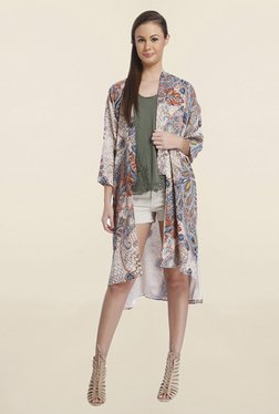 Only Multicolor Printed Long Shrug
