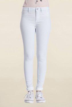 Only Light Blue Skinny Fit Skinny Fit Jeans