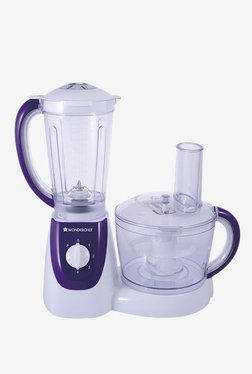 Wonderchef 1000W Food Processor With Safety Lock (White)
