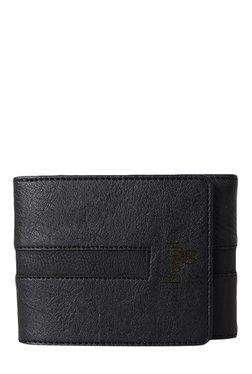 Baggit GW Wisdom Escape Black Tri-Fold Wallet