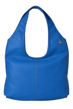 Baggit LXE3 Get E Tarzen Danube Blue Hobo Shoulder Bag