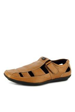Alberto Torresi Walcott Tan Fisherman Sandals