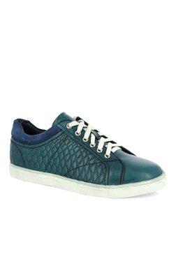 Alberto Torresi Sanvitoa Teal Blue & Navy Sneakers