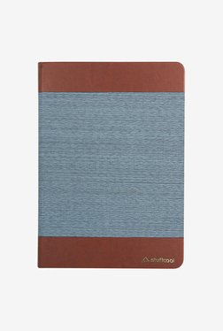 Stufffcool Dessin Leather Flip Case For IPad 9.7(Brown&Blue)