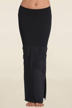 Clovia Black Solid Saree Shapewear