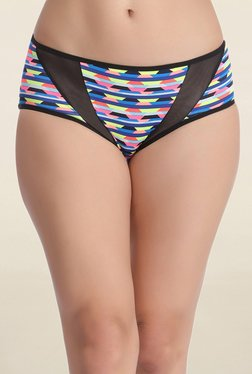 Clovia Multicolor Printed High Waist Hipster Panty
