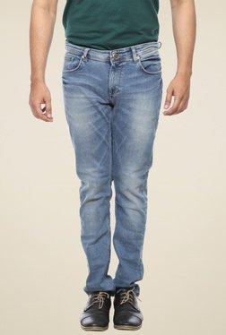 Spykar Light Blue Skinny Fit Low Rise Jeans