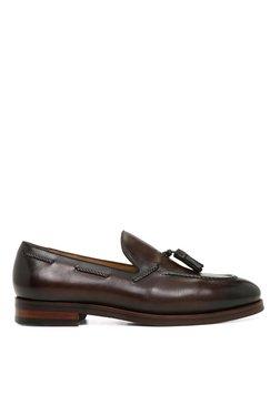 Aldo Pallini Dark Brown Boat Shoes