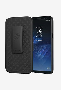 Amzer Shellster With Kickstand Black For Samsung Galaxy S8