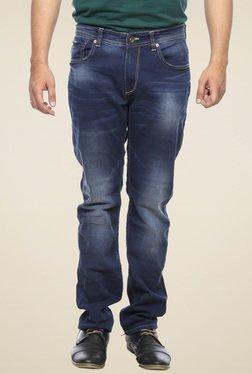 Spykar Blue Low Rise Denim Jeans