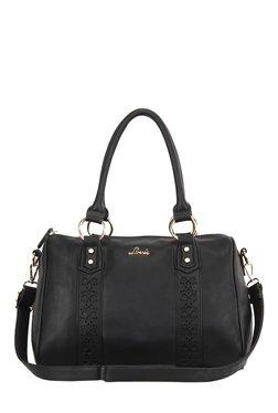Lavie Durat Black Cut Work Duffle Bag