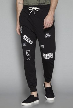 Nuon by Westside Black Slim Fit Joggers