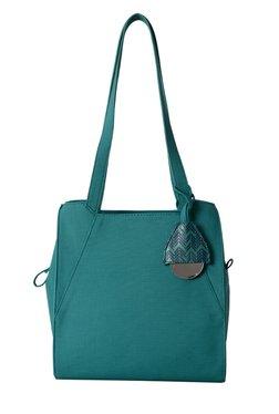 Baggit Windsor Charles Teal Blue Solid Shoulder Bag