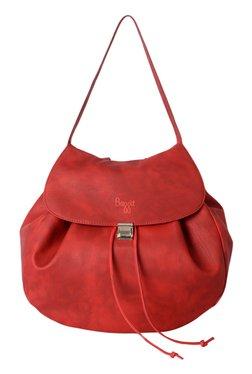Baggit L Rhyme Seafoam Red Backpack