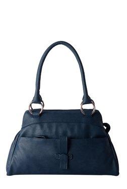 Baggit Webster Tingtong Navy Solid Shoulder Bag
