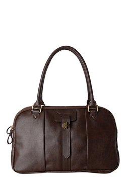Baggit Chase Dum Dark Brown Bowler Bag