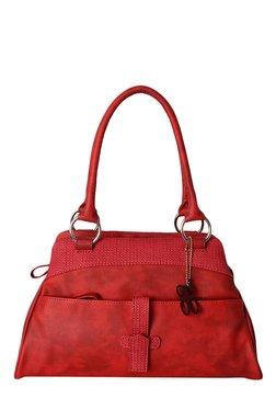 Baggit Webster N Seafoam Red Solid Shoulder Bag