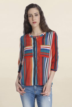 Only Multicolor Striped Shirt