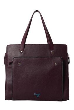 Baggit Laurel Bindas Wine Solid Shoulder Bag