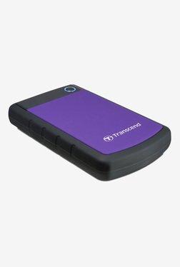 Transcend StoreJet 25H3 2 TB External Hard Drive (Purple)