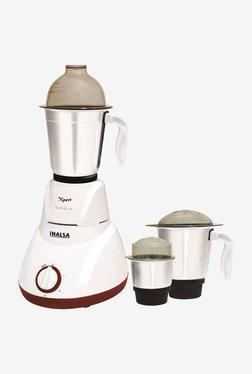 Inalsa Xpert 750 W 3 Jar Mixer Grinder (White)