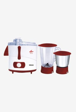 Inalsa Krish 500 W 2 Jar Juicer Mixer Grinder (Red)