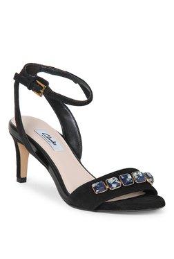 e535c840958 ... Women Price in India. TATACLIQ TATACLIQ. Clarks Amali Opal Black Ankle  Strap Stilettos