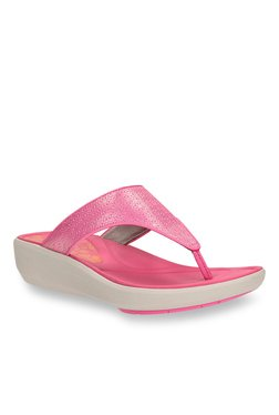 e2e01c1b5a4 Clarks Wave Pop Pink Sandals for women - Get stylish shoes for Every ...