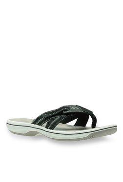 22bb2d86718b TATACLIQ. Clarks Brinkley Calm Black Thong Sandals