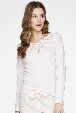 Hunkemoller Blush Lace Top