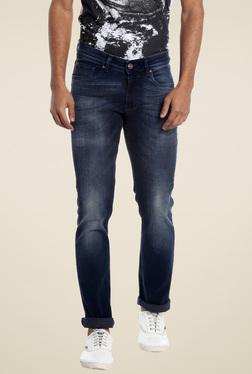 Numero Uno Indigo Slim Fit Low Rise Jeans