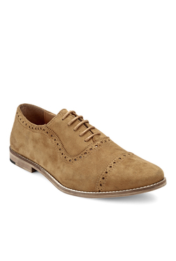 Hats Off Accessories Tan Oxford Shoes