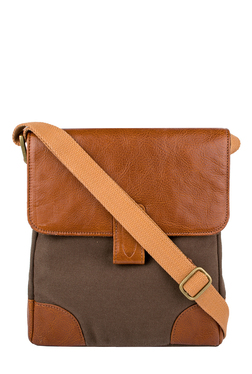 Hidesign Tuareg 03 Tan Leather Crossbody Bag