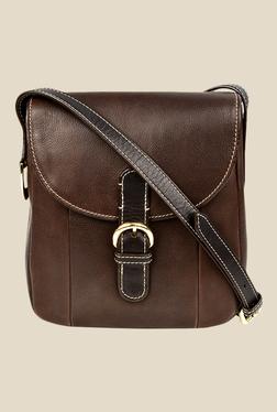 Hidesign Topaz 03 Brown Leather Sling Bag