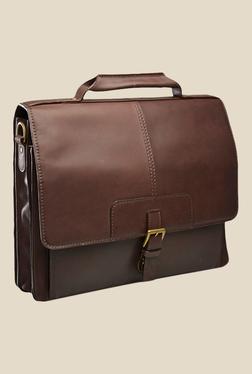 Hidesign Iceman 02 Brown Leather Messenger Bag