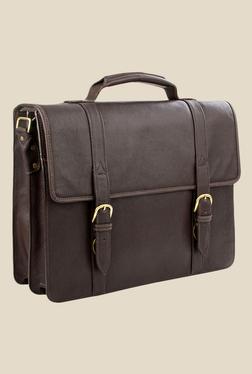 Hidesign Sb Bennett 2 Brown Leather Messenger Bag