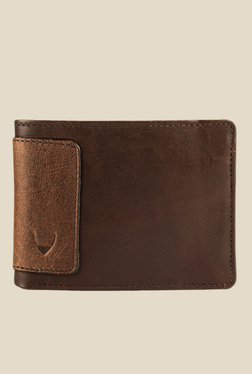 Hidesign 253-L103F Soho Brown Bi-Fold Leather Wallet